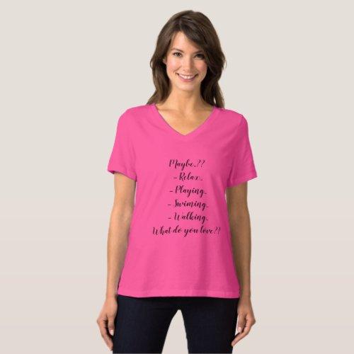 Create Your Own Custom Text Design T_Shirt