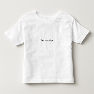 Create Your Own Custom Toddler T-Shirt