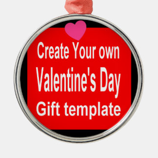 Create Your Own Custom Valentines Day Gift Ornament