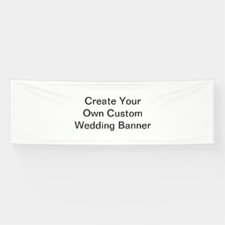 Create Your Own Custom Wedding Banner