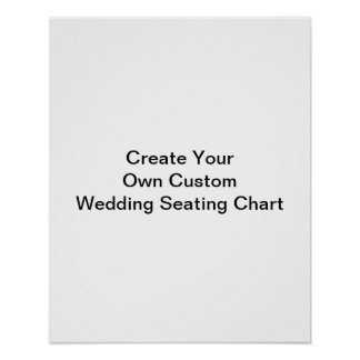 Create Your Own Custom Wedding Guest Seating Chart