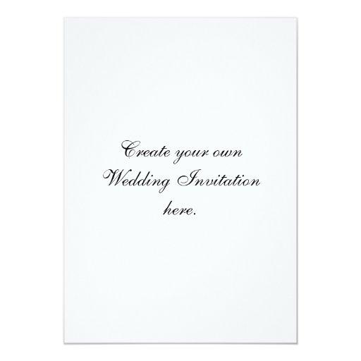 Create Your Own Custom Wedding Invitations