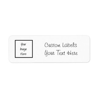 Create Your Own - Customize Blank Label