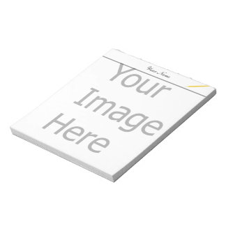 Create your own, customize Zazzle template Notepad