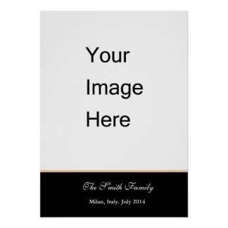 Create your own, customize Zazzle template Poster
