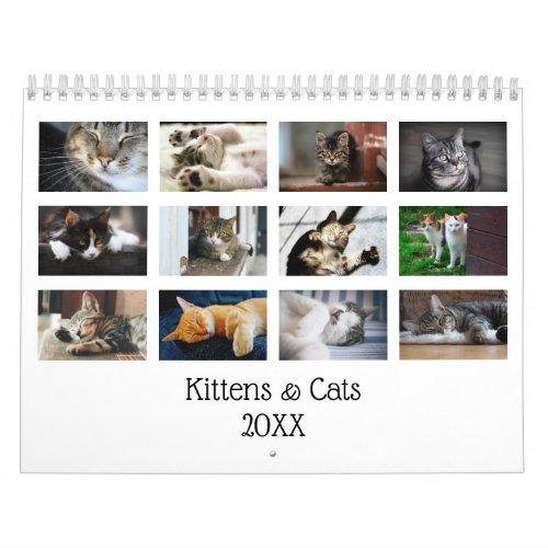 Create Your Own Cute Cats Kittens 2020 Pet Photo Calendar
