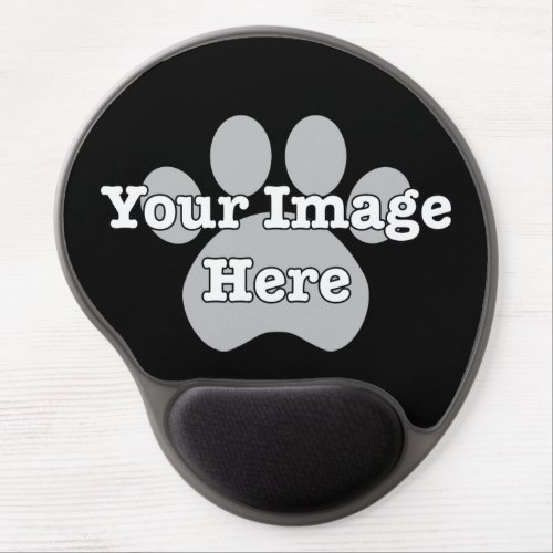 Create Your Own Dark Gel Mouse Pad