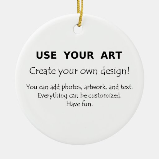 Create your own decorations use your art photos christmas How to make your own ornament