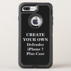 Create Your Own Defender Iphone 7 Plus Case at Zazzle
