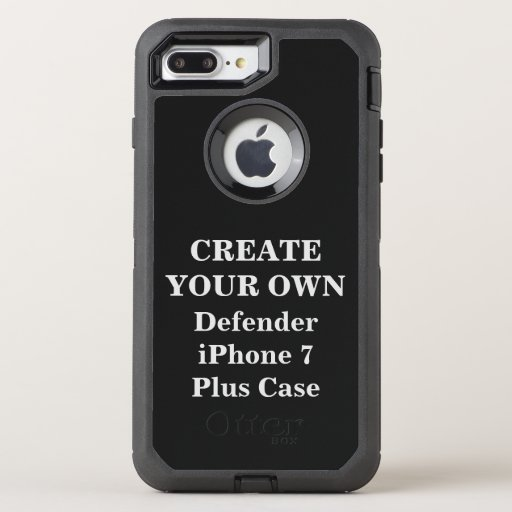 make your own iphone case create your own defender iphone 7 plus zazzle 17799