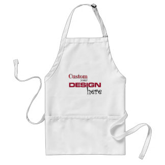 create your own design add image customise here aprons