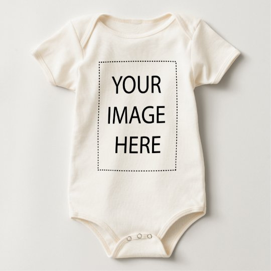 Create your own design! baby bodysuit