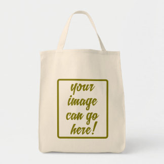 Create Your Own Design Organic Grocery Bags