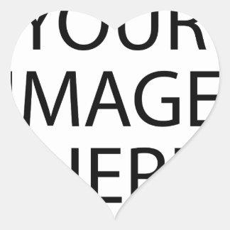 Create your own design & text :-) heart sticker