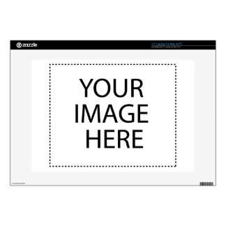 """Create your own design & text skin for 15"""" laptop"""