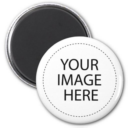 CREATE YOUR OWN - DESIGN YOUR OWN - BLANK 2 INCH ROUND MAGNET