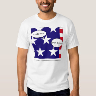 Create your own dialogue t-shirt