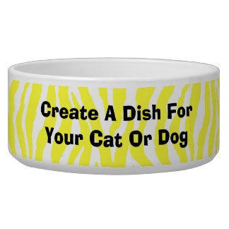 Create Your Own Dish For Your Pet Dog or Cat