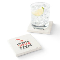CREATE-YOUR-OWN DIY Custom upload design Bachelor Stone Coaster