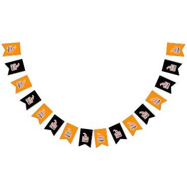 Halloween Themed CREATE-YOUR-OWN DIY Custom upload design halloween Bunting Flags