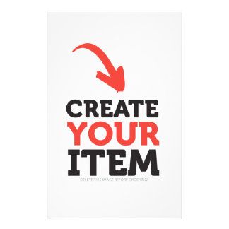 CREATE-YOUR-OWN DIY Custom upload your design Stationery