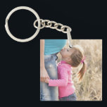 "Create Your Own Double Sided 2 Photo Upload Pictur Keychain<br><div class=""desc"">Create your own picture keychain featuring double sided photo template. To easily personalize with your favorite front and back images,  simply upload your photos. Design your 2 sided photo keychain today.</div>"