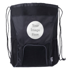 Create Your Own Drawstring Backpack at Zazzle