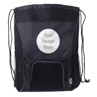 Create Your Own Drawstring Backpack