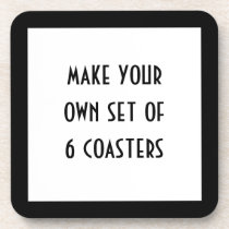 Create Your Own Drink Coaster