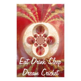 Create Your Own Eat Drink Sleep Customize Product Stationery