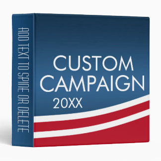 Create Your Own Election Design 3 Ring Binder