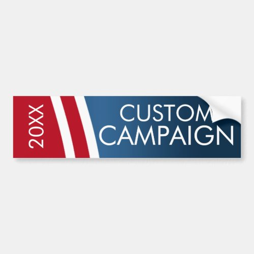 Create Your Own Election Design Bumper Sticker