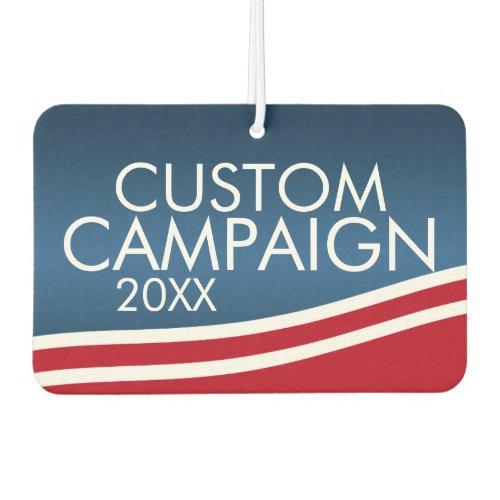 Create Your Own Election Design Car Air Freshener