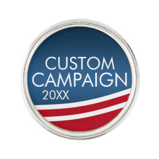 Create Your Own Election Design Pin