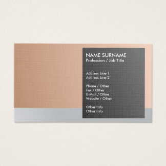 Create Your Own Elegant Classy Luxe Premium Linen Business Card