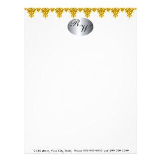 Create your own elegant letter head letterhead