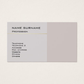 Create Your Own Elegant Modern Color Harmony Business Card