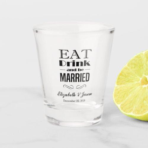 Create Your Own Elegant Wedding Shot Glass