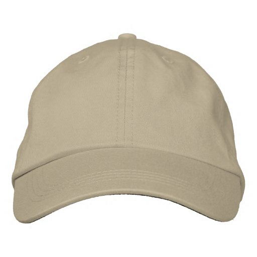 Create Your Own Embroidered Basic Adjustable Caps