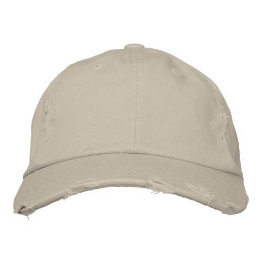 Create your own embroidered cap