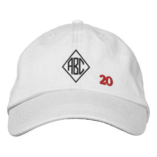 Create Your Own Embroidered Custom Monogram V20 Embroidered Hats