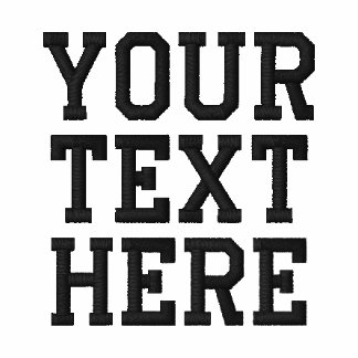 Create your own embroidered text polo for Custom embroidered t shirts no minimum