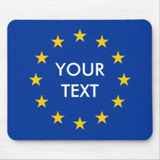 Create your own EU European Union flag mousepad