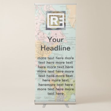 Create Your Own Event or Tradeshow Signage Retractable Banner