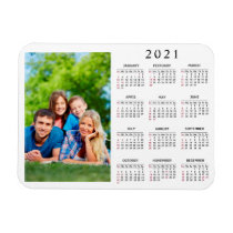 Create Your Own Family Photo 2021 Calendar Magnet