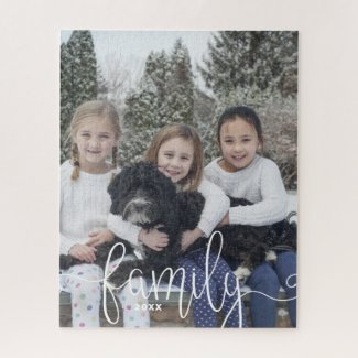 Create Your Own Family Photo Jigsaw Puzzle