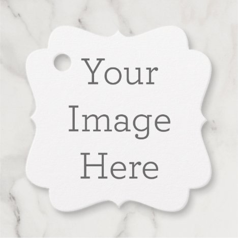 Create Your Own Fancy Square Favor Tags