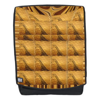 Create your own fashion Giraffe animal print Backpack