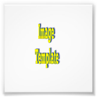 Create your Own Fast Template Photo Print