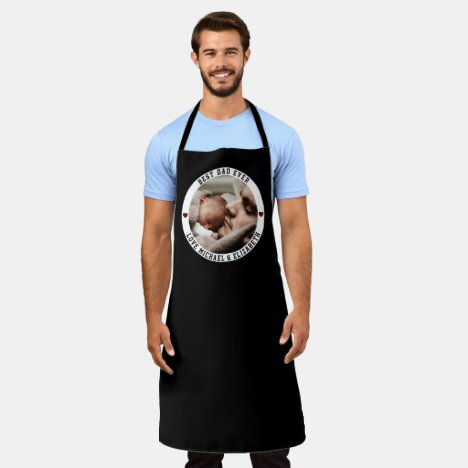 Create Your Own Father's Day Best Dad Ever Photo Apron